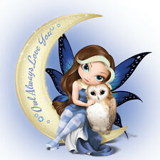 JASMINE BECKET-GRIFFITH JBG FIGURINE OWL ALWAYS LOVE YOU MYSTIC VISIONS