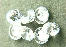 CUBIC ZIRCONIA loose AAA White CZ lot 1 to10mm Round CZ Stones *Wholesale* USA