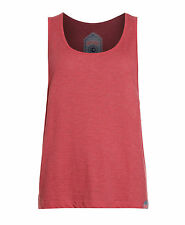 New Womens Superdry Factory Second Orange Sewn Low Arm Hole Vest Top