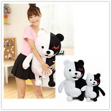 "Dangan Ronpa Mono Kuma Monokuma White& Black Bear soft Plush toy doll 14"" / 22"""