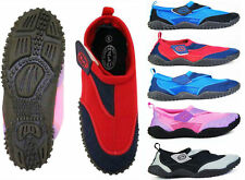 Nalu Hook and Loop Aqua Surf / Beach / Wetsuit Shoes ~ Kids 10 to Adults 12