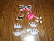 NWOT Gymboree hair bows clips and unbranded hair bows clips - really cute