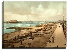 Canvas Print Of brighton, the pier from the east