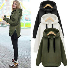 New Womens Winter Warm Top Pullover Hoodie Coat Outerwear Casual Hooded Jacket