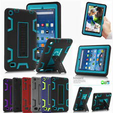 Shockproof Heavy Duty Rubber Hard Stand Case Cover For Amazon Kindle Fire 7""