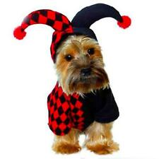 Halloween Pet Apparel Clown Costume Dog Coat Jacket Cosplay Outfit Hoodie XS--XL