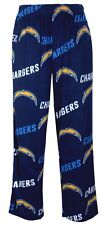 "San Diego Chargers NFL ""Playoff"" Men's Micro Fleece Pajama Pants"