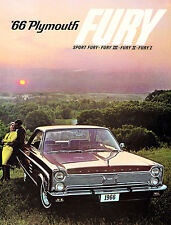 1966 Plymouth Fury - Promotional Advertising Poster