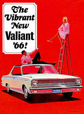 1966 Plymouth Valiant - Promotional Advertising Poster