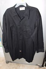 Dickies work shirts Mens LONG SLEEVE button front Shirt