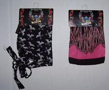 BRET MICHAELS PETS ROCK Doo-Rag for Dogs Dog Choose from 4 styles Small or Large