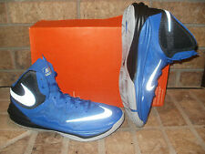 New Nike Prime Hype DF II Basketball Shoe 806941 401 Royal-Silver-Black-Gray $90