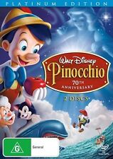 Pinocchio - Platinum Edition, DVD