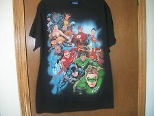 New DC Justice League 13 heroes Superman Lantern Batman Graphic TShirt NWT S-XL