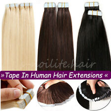 Best Quality 40Pcs Seamless Tape In Skin Weft Remy Human Hair Extensions US I336