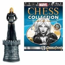 Marvel X-Men Emma Frost White Queen Chess Piece with Magazine #47