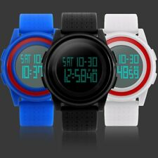 Fashion Men's Women's Waterproof LCD Digital Date Army SHOCK Sports Wrist Watch