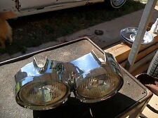1962 oldsmobile starfire  head lite assembly with head lite,rings L.H.
