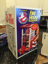 The Real GHOSTBUSTERS Fire House Vintage 1984 Kenner 100% Complete & UNOPENED!