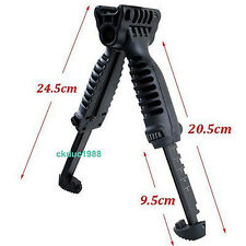 Tactical Foldable Foregrip Bipod Picatinny Rail Quick Release Mount for Rifle 51