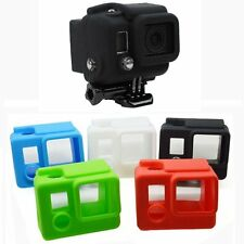 Dirtproof Soft Silicone Protective Housing Case Cover Shell for GoPro Hero 4 3+