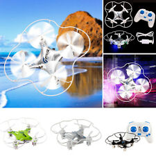 ➹ M9912 ➷ 4CH 6 Axis Helicopter Fly LED Light Mini RC Quadcopter Drone For Gifts