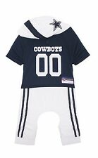 Dallas Cowboys Dog Uniform Onesie Shirt Officially Licensed NFL Football Product