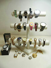 Lot of Mens & Womens Jewelry Watches W/ Disney Lorus Mickey Mouse AS IS