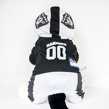 Oakland Raiders Dog Uniform One-Piece Officially Licensed NFL Football Product