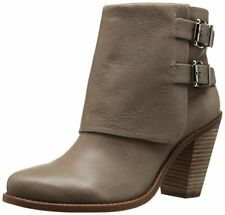 Jessica Simpson Womens CAINN Leather Round Toe Ankle Fashion Boots