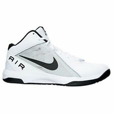 Men's Nike Air Overplay Basketball Shoes White Many Sizes #864 Brand New