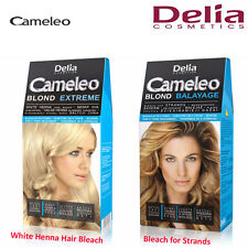 Delia Cameleo Hair Bleach Powder Blond Extreme Balayage Strands & Hair with Hena