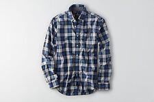 NWT American Eagle Outfitters Classic Fit Plaid Button Down Shirt  M  L  XL