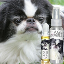 THE BLISSFUL DOG JAPANESE CHIN AGE WELL AROMATHERAPY FOR SENIOR MENTAL SUPPORT