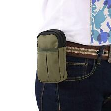 Military Double Layers Cellphone Pouch Carrying Pouch Waist Pack Travel Pouch