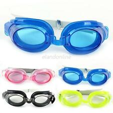 Waterproof UV Anti-fog Protection Adjustable Swimming Goggles Glasses Adult Kids