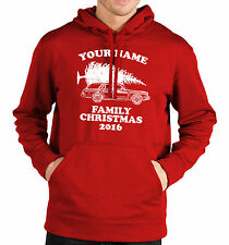 Personalised Family Christmas Hoodie Men Women Kid Funny Griswold Customised Top