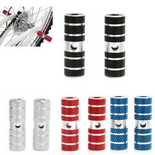 BMX Mountain Cycling Bicycle Axle Pedal Alloy Foot Stunt Pegs Cylinder