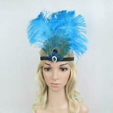 Feather Headdress Brazil Ostrich Feather Headband Headpiece Carnival Halloween