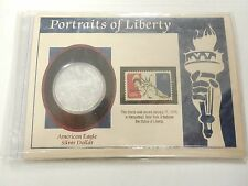 2006 Silver Dollar COLORIZED Coin ~ 1 troy oz AMERICAN EAGLE ~ Walking Liberty