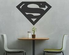 Large Superman Shield / Logo Vehicle or Wall Vinyl Auto Graphic Decal Sticker