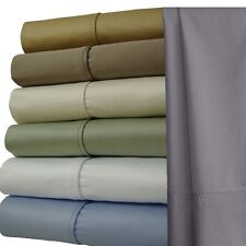 """22"""" Extra Deep Pocket Combed Cotton, 1000 Threadcount Solid & Colored Sheet Sets"""