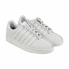 K-Swiss Classic VN P Reflective Mens Grey Leather Lace Up Sneakers Shoes