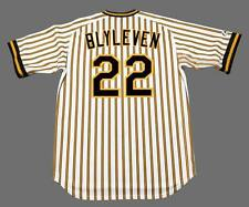 BERT BLYLEVEN Pittsburgh Pirates 1978 Majestic Cooperstown Home Baseball Jersey
