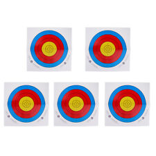 Roll of 5 Sheet 40/60cm Archery Target Faces Heavy Gauge Paper Crossbow