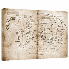Unknown 'The Vinland Map' Gallery Wrapped Canvas