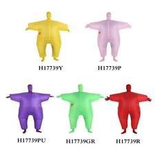 Inflatable Costume Halloween Party Suit Fat BlowUp Balloon Funny Adult Size J0K8