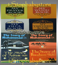 PRAYER DUA WUDU TAWHEED BOOK KIDS MUSLIM CHILDREN ISLAMIC STORY BOOKS DARUSSALAM