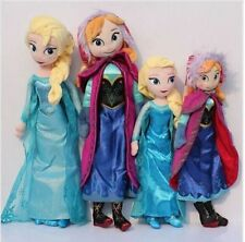 30cm/40cm/50cm Disney-Frozen-Elsa-Anna-princess stuffed Soft plush toy doll for*