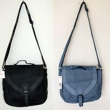 BILLABONG Handbag Shoulderbag Purse NEW SIDEWALK Faux Leather BLACK DUSTY BLUE